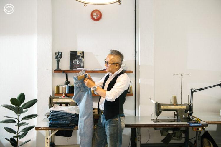 วิรัช พฤกษา จากเด็กเย็บผ้าโหลสู่ The Machine ช่างซ่อมกางเกงยีนส์มือหนึ่งของไทย