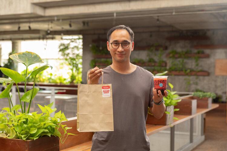 Good Eats Kitchen ร้านออนไลน์ที่ขายส้มตำออร์แกนิก ชาไข่มุกพิเศษ และของกินสุขภาพ