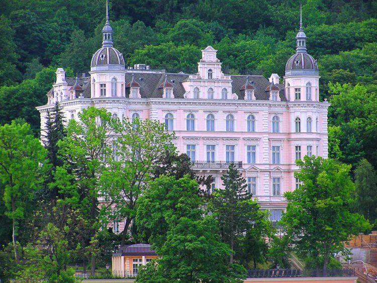 The Palace Bristol Hotel เมือง Karlovy Vary สาธารณรัฐเช็ก