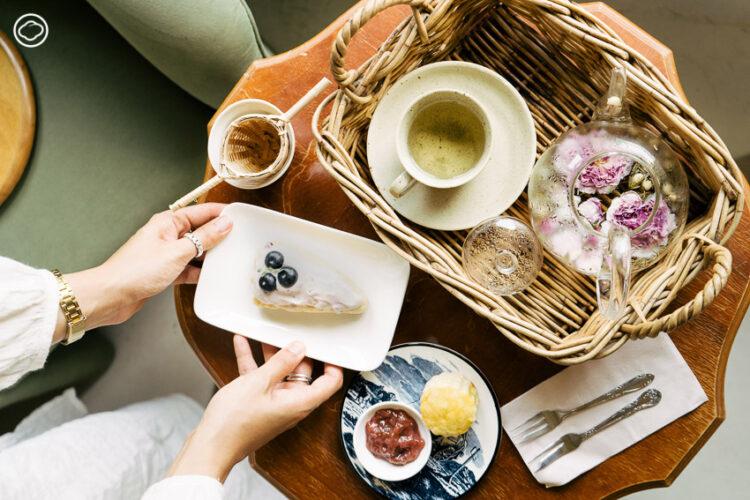จัดปาร์ตี้น้ำชา เบลนด์ชาที่ชอบ ชิมขนมอบโฮมเมด ในบ้านไม้จังหวัดนครราชสีมาที่ กระตั้ว-นันทพัทธ์ พนิตวรนันท์ ได้แรงบันดาลใจจากสกอตแลนด์