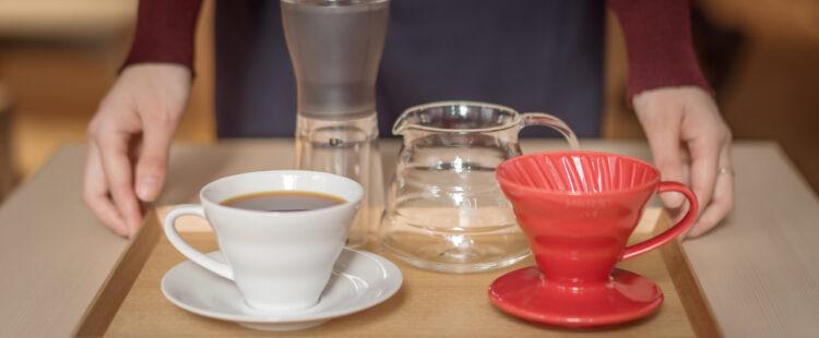 HARIO Café เผอิญตอนนั้นมีร้าน HARIO Lampwork Factory, hario v60