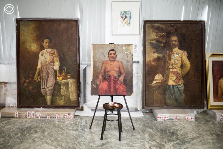 ขวัญจิต และ สุริยะ เลิศศิริ คู่รักนักซ่อมงานศิลปะโบราณ มรดกศิลปะทั่วฟ้าเมืองไทย