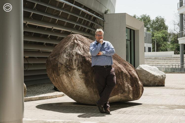 มาร์ติน เฟ็นสกี้-สตาล์ลิ่ง (Martin Venzky-Stalling) ที่ปรึกษาอาวุโสของอุทยานวิทยาศาสตร์และเทคโนโลยี มหาวิทยาลัยเชียงใหม่