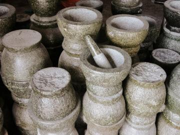 ครก เครื่องมือคู่ครัวไทย ที่มีประโยชน์ตั้งแต่บดของสารพัดในครัว จนไปถึงใช้จำนำ