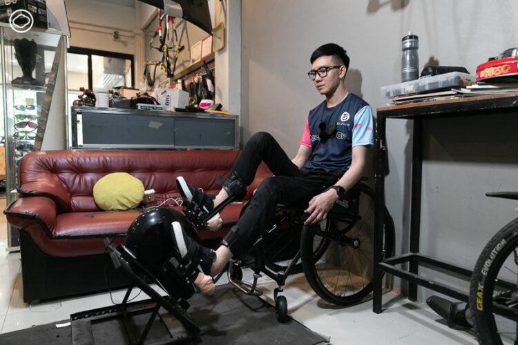 โปรจักรยานหมายเลขสองของไทย ผู้เริ่มต้นชีวิตใหม่บนวีลแชร์