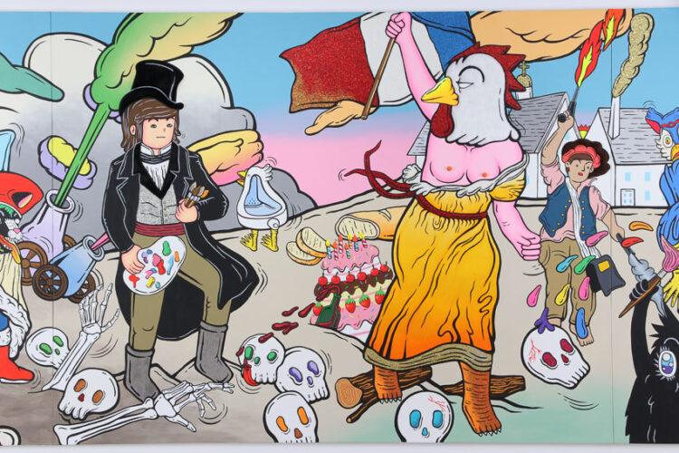 ศิลปินนักออกแบบการ์ตูนสีสดที่ซ่อนประเด็นสังคม ธรรมชาติ จนถึงการเมือง