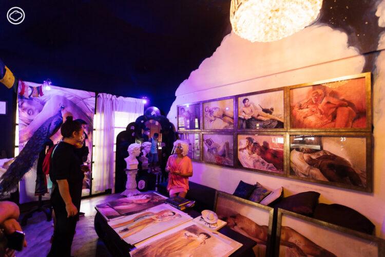 เยี่ยม โพธิสัตวา แกลเลอรี่ LGBTQ+ แห่งแรกของเมืองไทย ของโอ๊ต มณเฑียร ที่ยืนหยัดเพื่อศิลปินเพศสภาพหลากหลาย