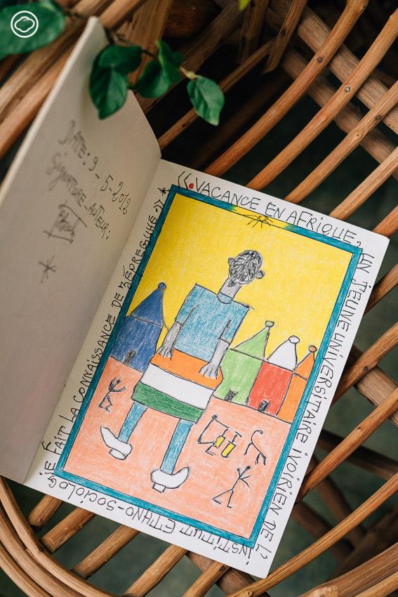 เปิดสมุดสเก็ตช์ Cheik Nadro ศิลปินที่วาดเรื่องมนุษย์ไม่ต่างกันจน Swatch เอาลายไปทำนาฬิกา