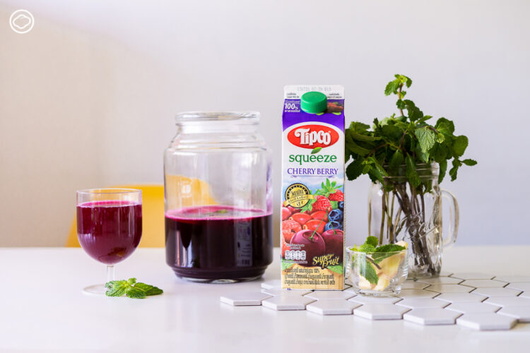 วิธีทำ ไซเดอร์ เครื่องดื่มน้ำซ่าสดชื่นดีต่อไส้พุงแบบง่ายๆ จากน้ำผลไม้กล่องและของที่หาซื้อได้ตามซูเปอร์มาเก็ต