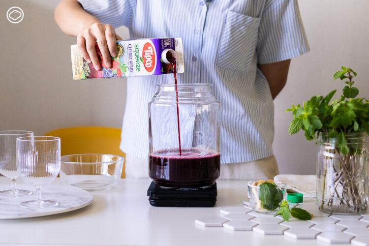 หมักน้ำผลไม้กล่องให้เป็นไซเดอร์เพื่อสุขภาพแบบง่าย แถมได้หัวเชื้อไว้หมักต่อไปไม่รู้จบ