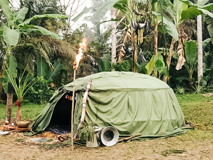 นอนในกระโจมหินร้อน ซาวน่าเพื่อคลีนใจและเชื่อมต่อกับธรรมชาติแบบชาว Native American