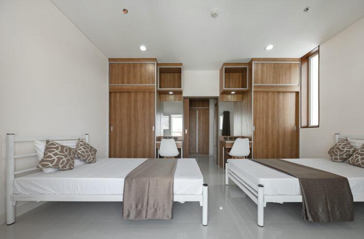 หอพักพยาบาล โรงพยาบาลจุฬาลงกรณ์ สภากาชาดไทย ที่ออกแบบอย่างเข้าใจคนเป็นพยาบาล