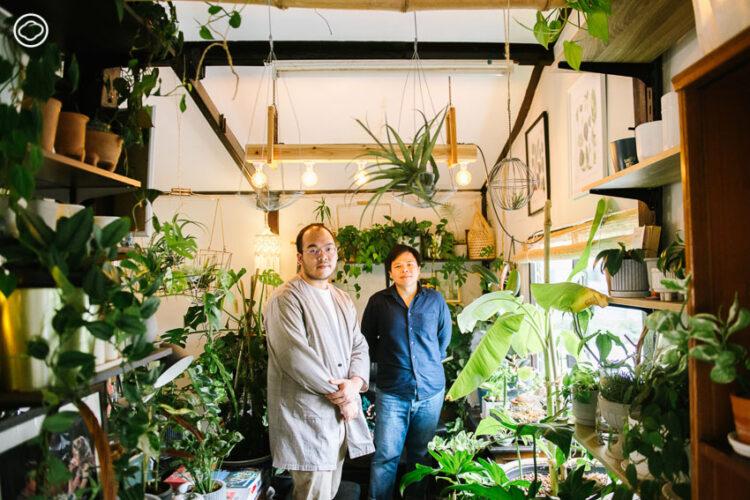 พลูโต houseplant studio ร้านขายต้นไม้ที่มีคอนเซปต์ปลูกง่ายตายยาก ปิดดึก และมีซุ้มดูดวง