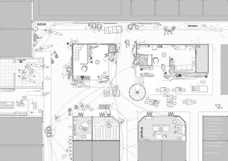 สถาปัตยกรรม 'ซอยเถิดเทิง' กับการเปลี่ยนแปลงของวิถีชีวิตในชุมชนขนาดย่อมตลอด 25 ปี