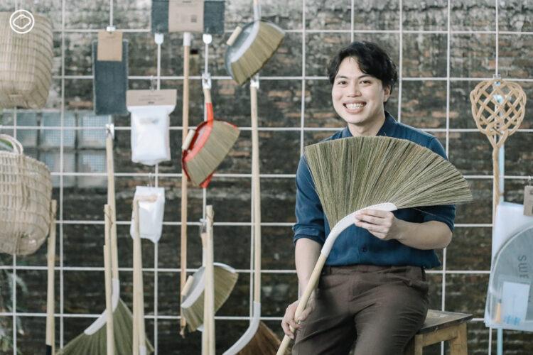 Sweepy ไม้กวาดที่ออกแบบตามหลักสรีระศาสตร์ ให้ใช้ได้นาน และกวาดบ้านอย่างมีความสุข