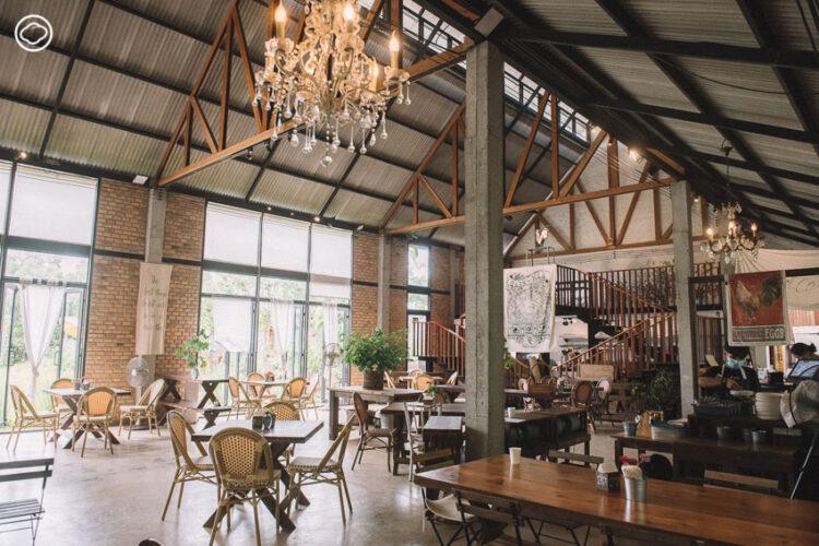 บ้านนาคาเฟ่ คาเฟ่กลางทุ่งนา เปลี่ยนฝันการเปิดร้านอาหารท่ามกลางธรรมชาติให้เกิดขึ้นจริง