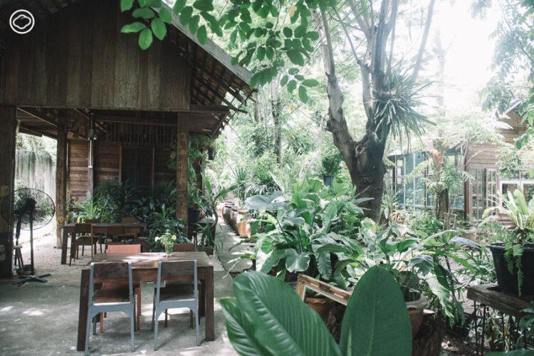 ไม้บ้าน ร้านอาหาร คาเฟ่ และสตูดิโองานไม้ของสถาปนิก ผู้ตั้งใจกลับมาสร้างงานออกแบบที่บ้านเกิด