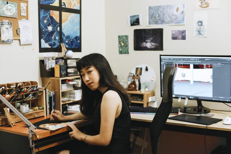 อะตอม หนึ่งในนักออกแบบ Virtual Influencer ที่มีคนตาม 3 ล้านคน ผู้ผลักดันวงการ 3D ไทย