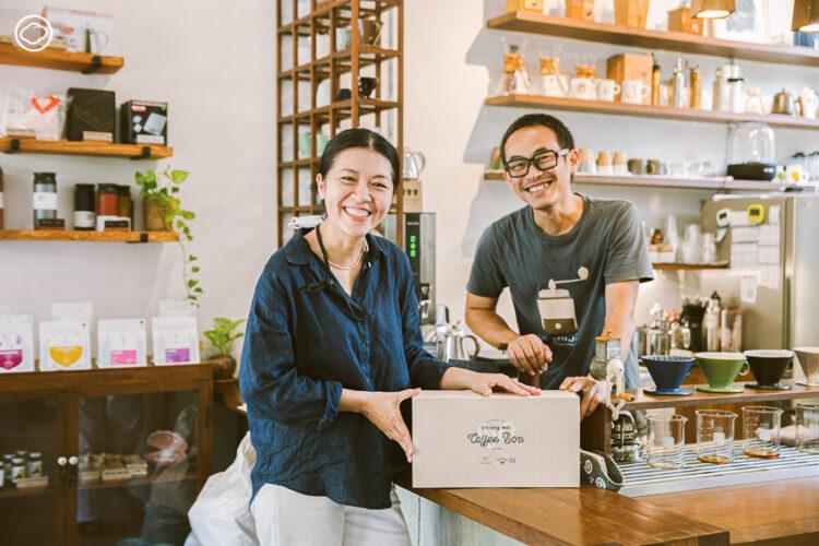 Chiang Mai Coffee Box อุดหนุนเกษตรกรเชียงใหม่ด้วย Coffee Set สุดยอดกาแฟพร้อมส่งถึงบ้าน