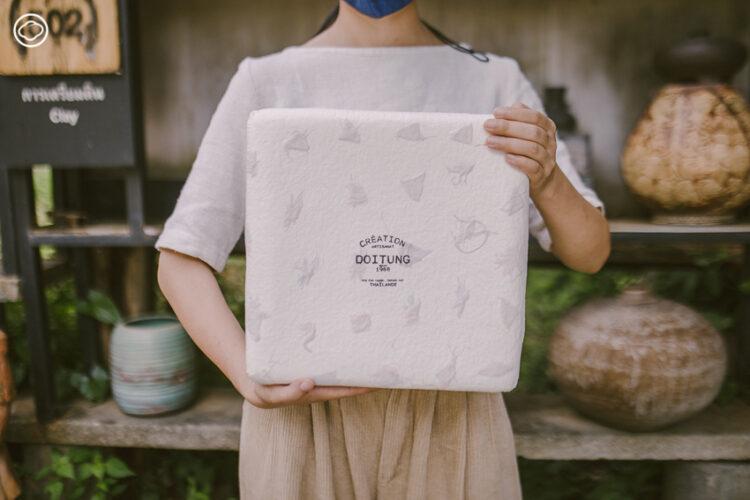 กล่องของขวัญ Limited Edition ที่มีเพียง 150 ชุด บรรจุ ชา ผลิตภัณฑ์จากภูเขา และความตั้งใจของคนเชียงรายไว้เต็มเปี่ยม