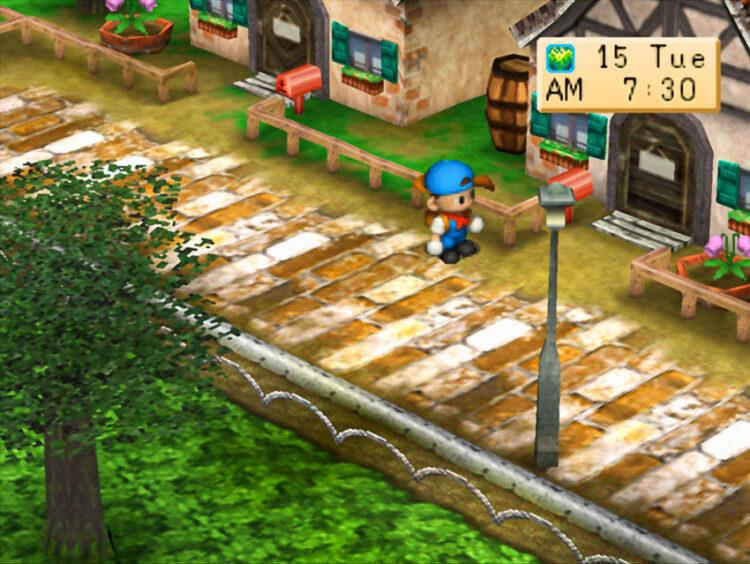 ฟาร์ม Harvest Moon สถาปัตยกรรมในเกมที่จำลองประสบการณ์ชีวิตจริงของผู้เล่น