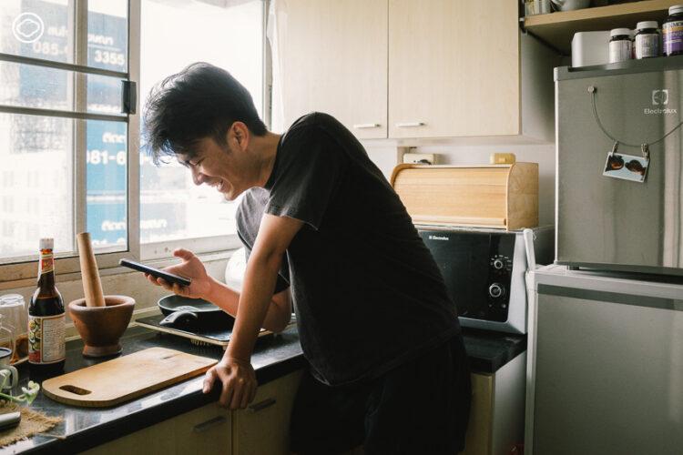 แม่ เมนูนี้ทำไง : เพจกระชับพื้นที่ในบ้านของลูกชายที่โทรถามสูตรอาหารแทนการบอกรักแม่