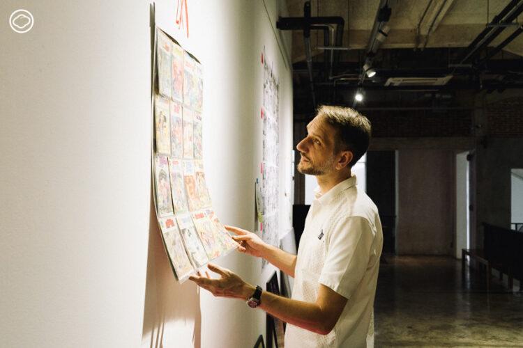 เรียนประวัติการ์ตูนไทยกับ Nicolas Verstappen อาจารย์เบลเยียมผู้เชี่ยวชาญเรื่อง Comics