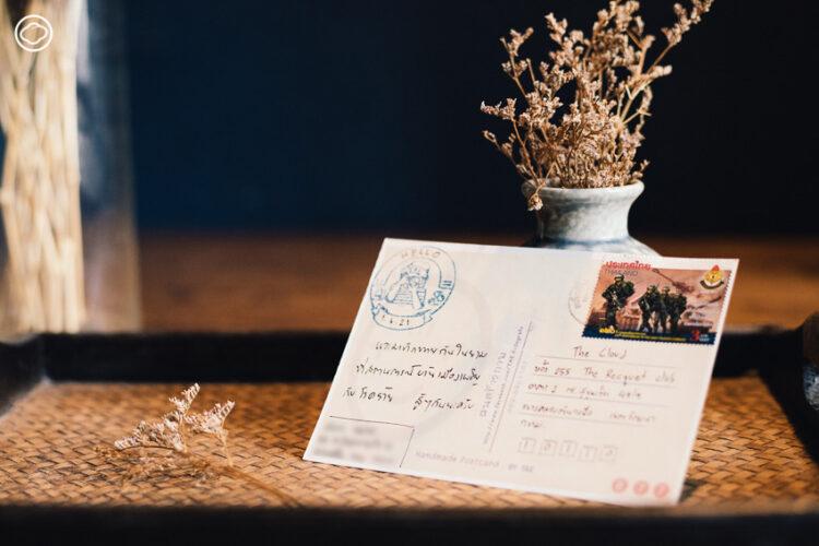 10 โปสการ์ดดอกไม้สารพัดรูปแบบจาก กทม. เชียงใหม่ ปารีส ที่ผู้อ่านส่งหาในเดือนกรกฎาคม