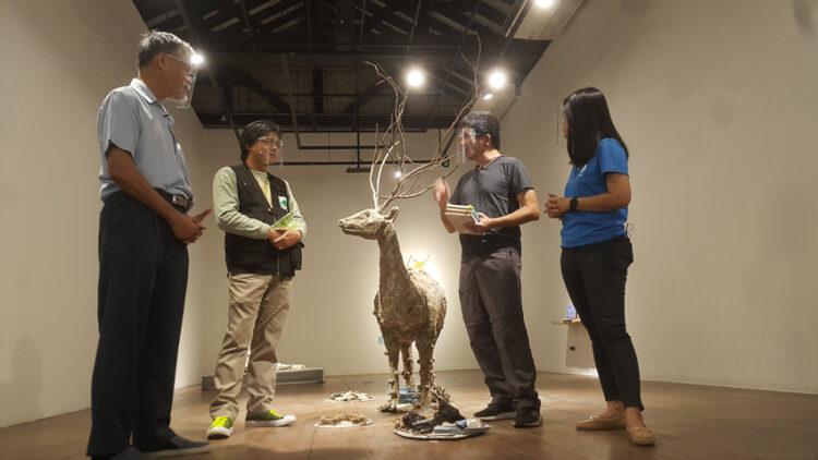 Reincarnation III : แกะรอยผีเสื้อ สมัน ปลา นกกระเรียน และสัตว์สูญพันธุ์ในไทยผ่านงานศิลปะ