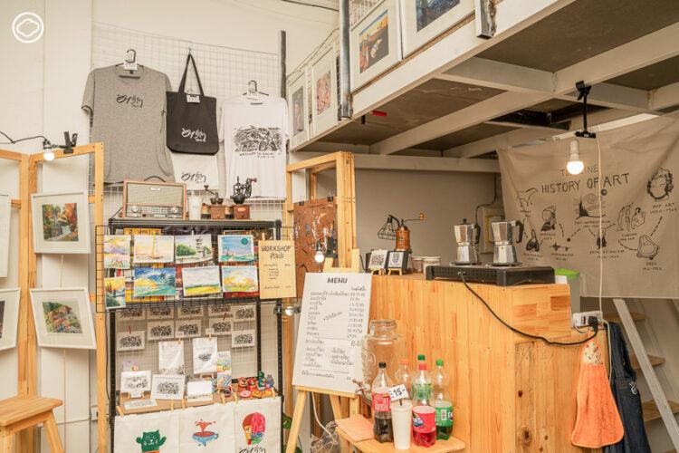 อาร์ต ละ วาด Arts Space & Cafe 101
