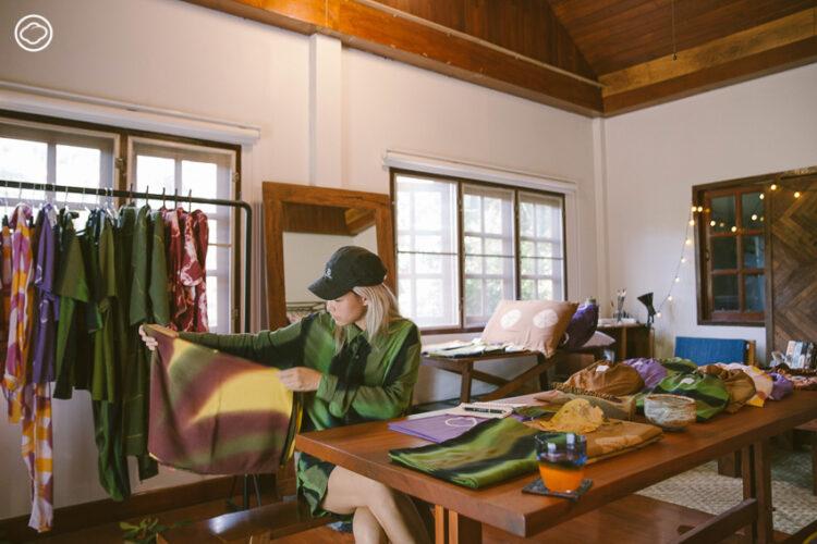 สาวเมืองกรุงจับคู่งานคราฟต์กับการวิ่งเทรลสู่แบรนด์เสื้อผ้า Slow Fashion โดยช่างฝีมือในเชียงใหม่