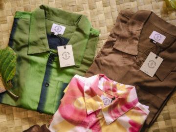 Wood and Mountain เสื้อผ้าบาติกสีธรรมชาติ จ.เชียงใหม่ แรงบันดาลใจจากป่าและการวิ่งเทรล