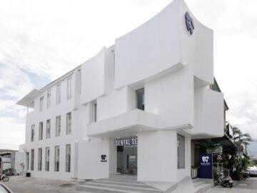 Dental Sense Clinic เปลี่ยนตึกแถวเชียงใหม่เป็นคลินิกทำฟัน Façade เก๋ เพื่อรอยยิ้มคนไข้