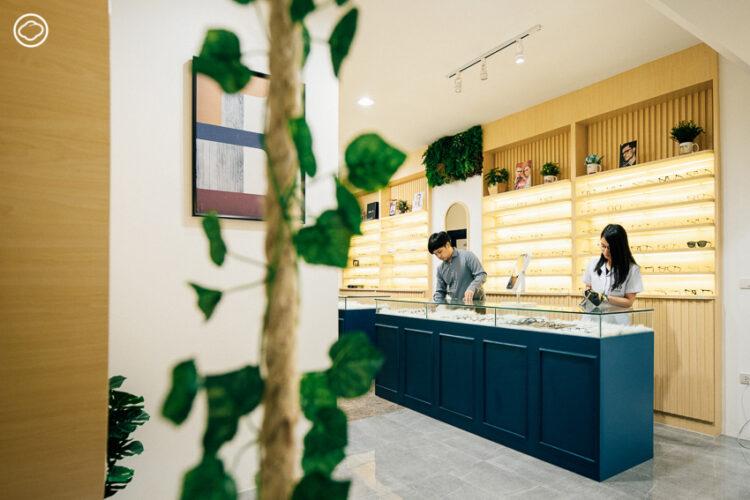 EyeHome ทายาทร้านแว่นตาที่ให้บริการ 24 ชั่วโมง และรับเพียงวันละ 5 คิว