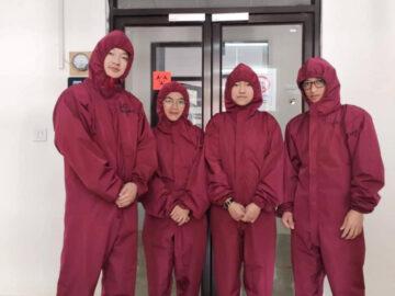 อาสาสมัครสาวไทยกับงานด่านหน้าในแล็บตรวจโควิด-19 แห่งเดียวของภูฏาน
