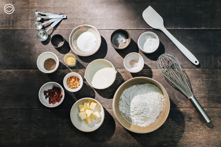 แชร์วิธีทำ Scone เก๋ากี้สไตล์จีน พร้อมแบ่งปันความห่วงใยและเกร็ดวัฒนธรรมผ่านอาหาร ที่ทำแลกเปลี่ยนกับกลุ่มเพื่อนตามธีมสนุก