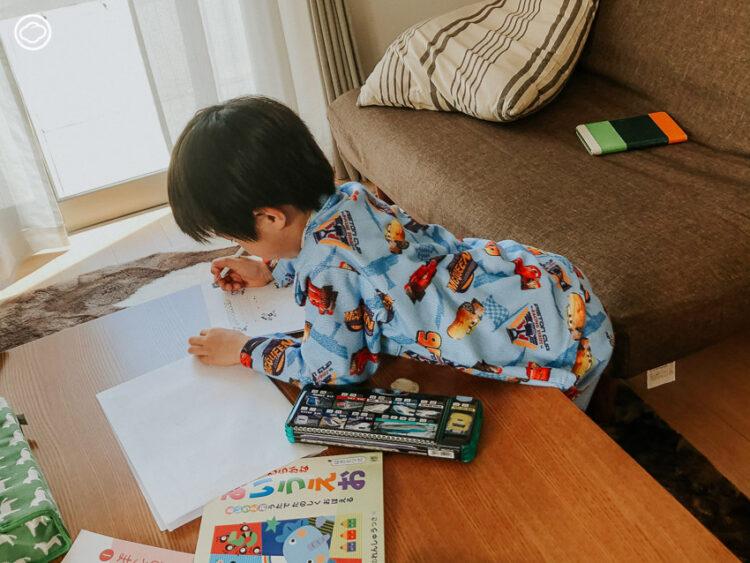 เมื่อคุณแม่เล่าเรื่องการเรียนชั้นประถมที่ญี่ปุ่นของลูกชาย ผ่านมุมมองเด็ก ป.1 ที่ต้องเรียนออนไลน์เพราะโควิด-19