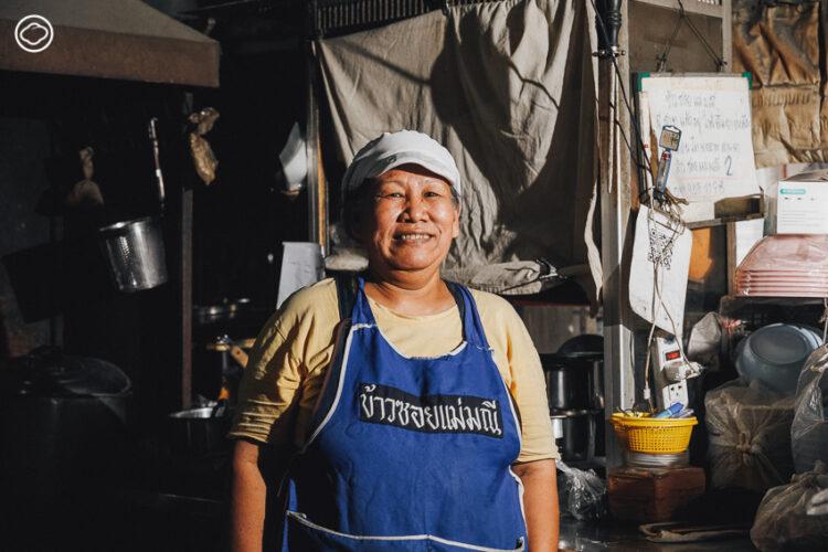 ขึ้นเชียงใหม่ เข้าซอย ไปย้อนรอย 'ข้าวซอยแม่มณี' รสเข้มที่ได้รับรางวัล Bib Gourmand จากมิชลิน