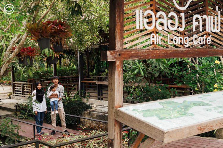 ไร่แอลอง AirLong Farm, สวน 100 ปีที่พัฒนาเป็นห้องพัก ลานกางเต็นท์ และคาเฟ่กลางหุบเขา