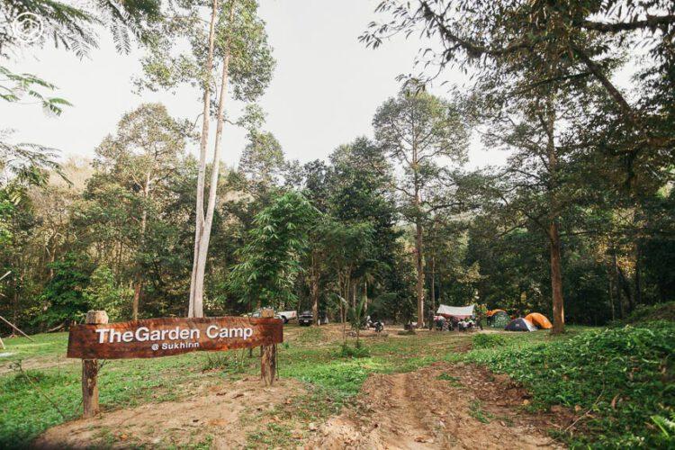 The garden camp - sukhirin, ลานกว้างข้างน้ำตก แหล่งรวมฝันของคนรุ่นใหม่