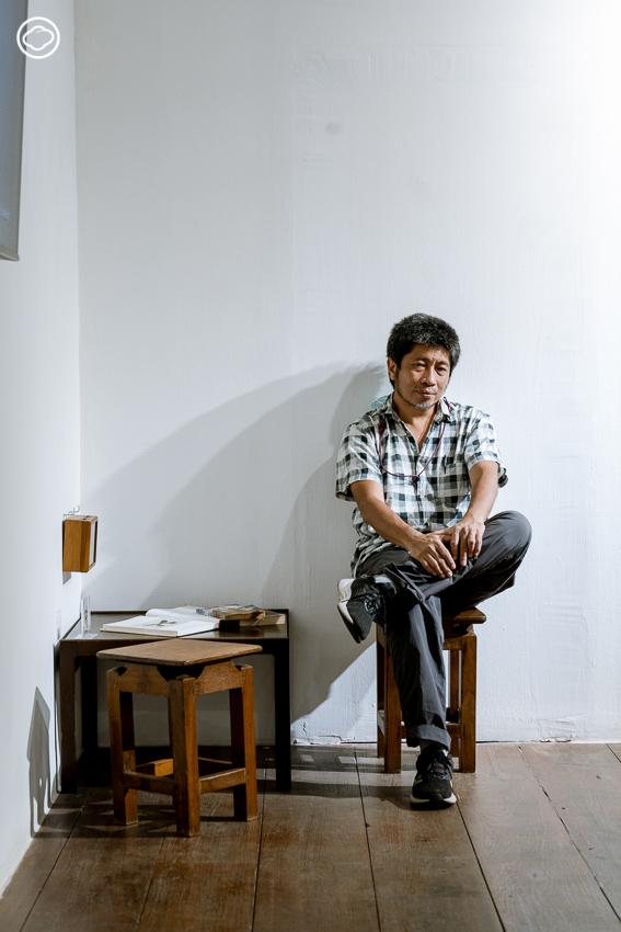 สนทนากับ โจ้-เรืองศักดิ์ อนุวัตรวิมล นักสื่อสารปัญหาสิ่งแวดล้อมผ่านศิลปะ ถึงการผสานโลกวิทย์กับศิลป์เข้าด้วยกัน