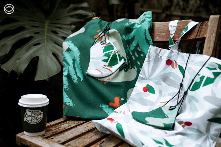 การร่วมงานครั้งแรกของ Café Amazon และ Naraya แบรนด์ไทยที่อยากคืนกำไรสู่สังคมด้วยโปรเจคต์แก้ปัญหาการว่างงานในกลุ่มแรงงานช่วงวิกฤตโควิด-19
