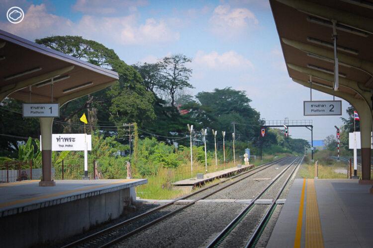 รถไฟทางคู่มาบกะเบา-ถนนจิระ ทางรถไฟสายปรับปรุงใหม่ที่จะทำให้ไปกลับอีสานได้เร็วขึ้น