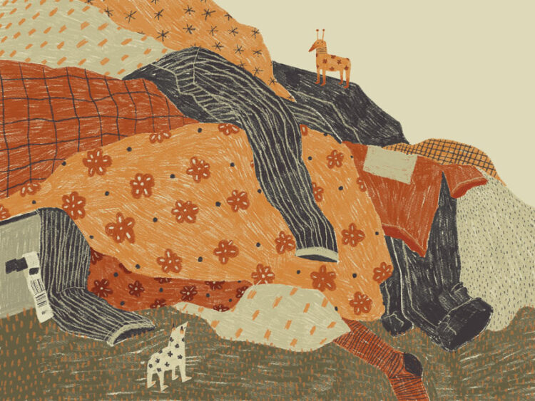 ศิลปะและการเติบโตของ 'ลันลัน-ด้วยรัก ผดุงวิเชียร' ศิลปินรุ่นใหม่ในอเมริกา ผู้หยิบวัสดุรอบตัวมาสร้างผลงานไร้กรอบ