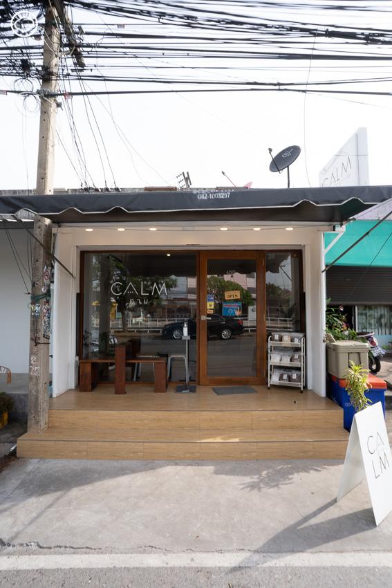 CALM Coffee & Co, สโลว์บาร์แห่งแรกในสารคามที่ถ่ายทอดลูกอีสานผ่านรสชาติกาแฟ
