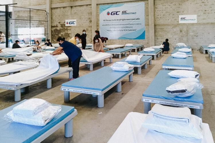 Greater Care Charity โครงการพลิกพลาสติกเป็นนวัตกรรมรับมือโควิด-19 ของ GC และ 84 พันธมิตร