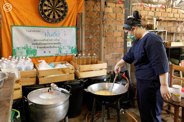 ปั๋นอิ่ม อาสาสมัครภาคเหนือที่สร้างโมเดลแบ่งปันอาหาร กลไกแลกกันเพื่อปากท้องยั่งยืน
