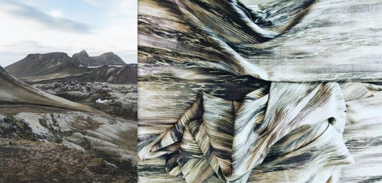 จากสีสันลวดลายของหินที่ไอซ์แลนด์ สู่ผ้าทอฝีมือหนิงดีไซน์ อ.ปักธงชัย จ.นครราชสีมา พลิกภาพของผ้าทอไทยแบบเดิม