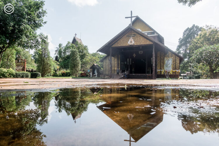 โบสถ์ไม้วัดอัครเทวดามีคาแอล บ้านซ่งแย้, โบสถ์คริสต์สร้างจากไม้หลังใหญ่ที่สุดในประเทศไทย
