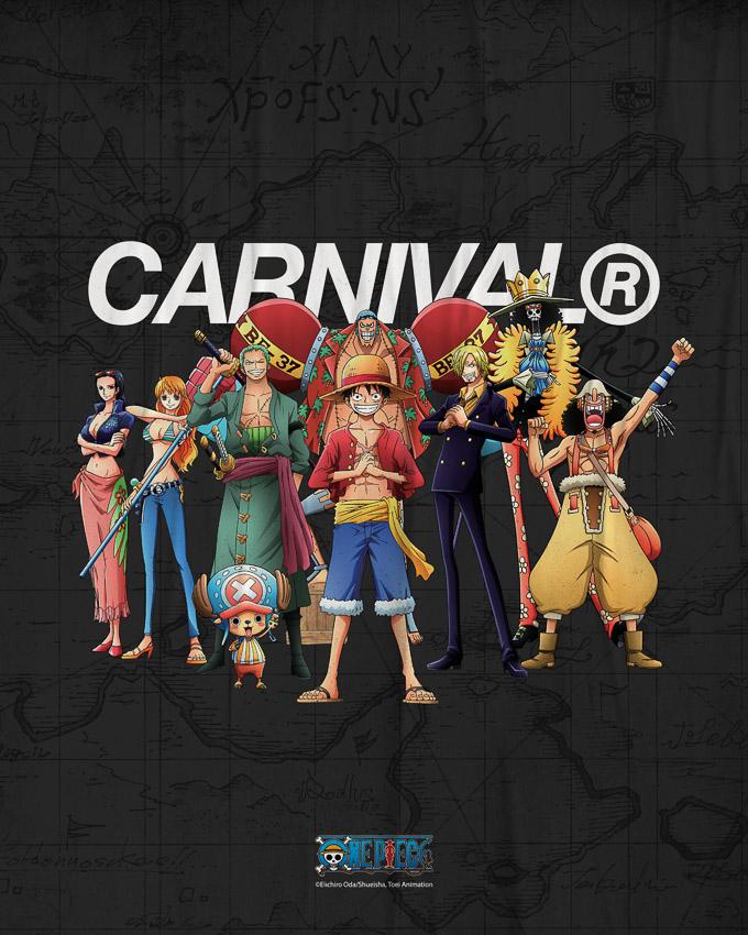CARNIVAL x One Piece คอลเลกชัน 91 แบบที่คนต่อคิวซื้อเป็นหมื่นและขายหมดในวันเดียว